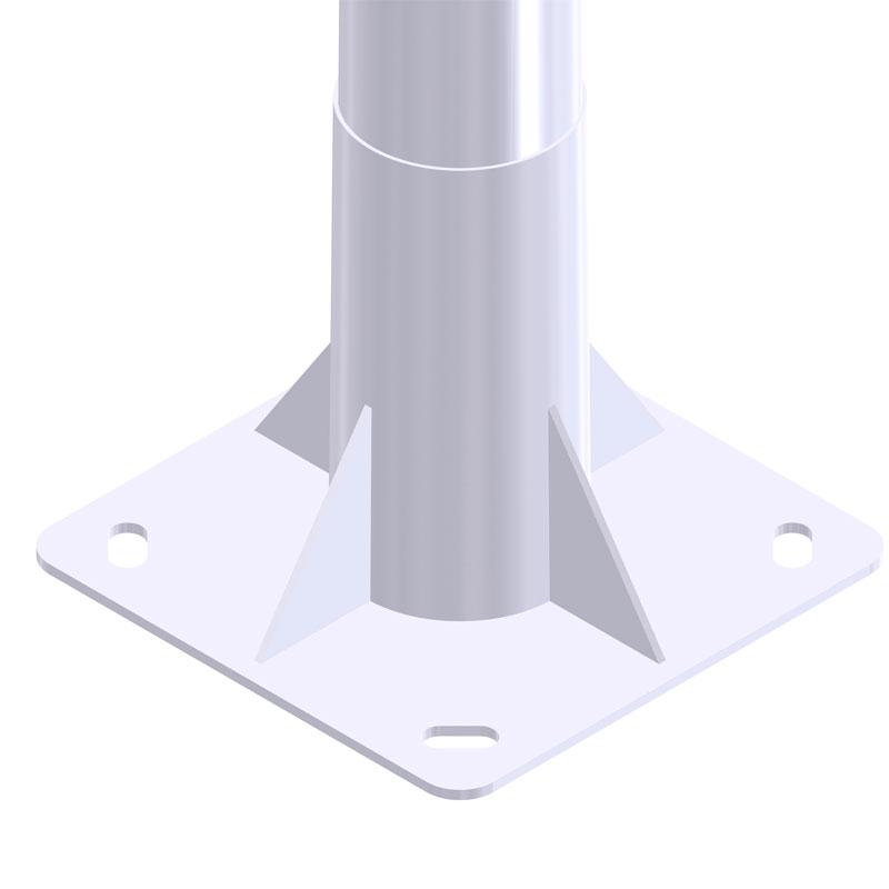 Iluminación exterior con Báculo-Troncocónico-GRBCN-11020