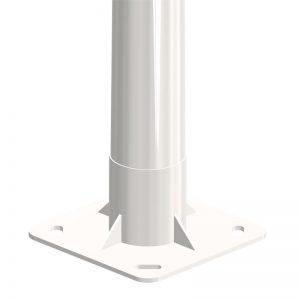Báculo troncocónico AM-10 de iluminación exterior y alumbrado público