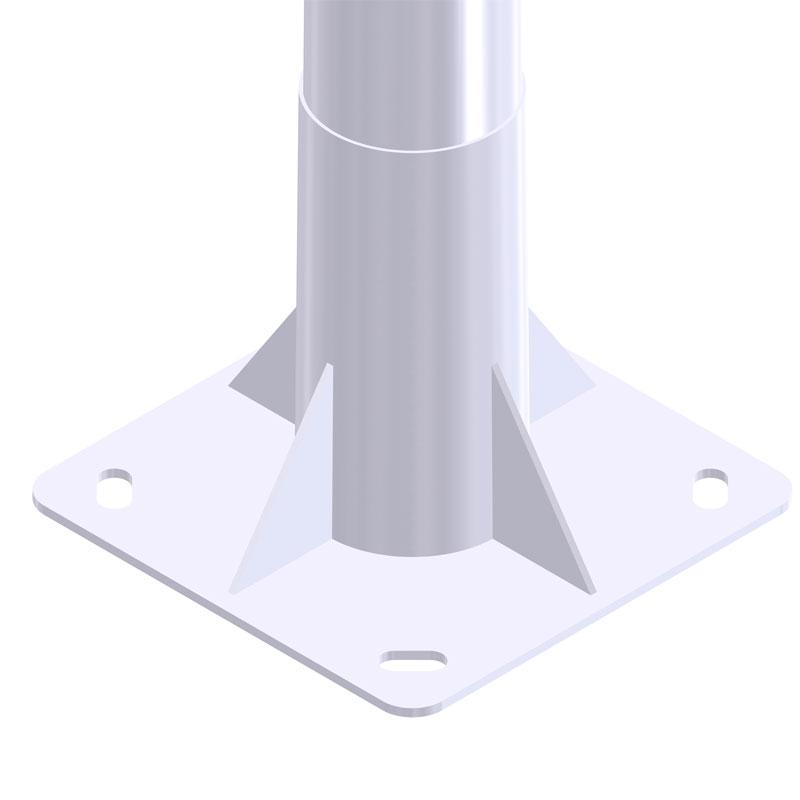 Iluminación exterior con Báculo-troncocónico-GRBCN-12025