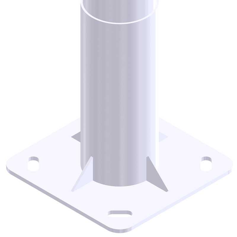 Iluminación Exterior con Columna-Bicilíndrica-NIK-BCN