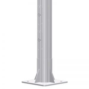 Iluminación pública y alumbrado exterior con Columna Cilíndrica Gala