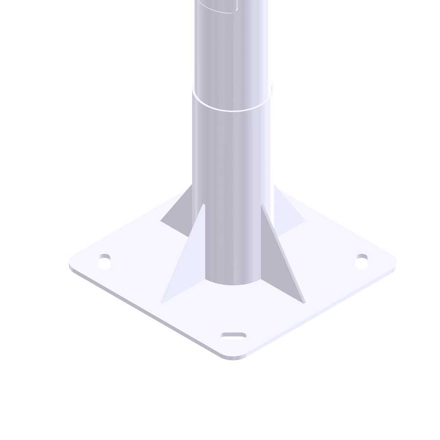 Alumbrado exterior e iluminación pública con Columna-Cilíndrica SO-BCN