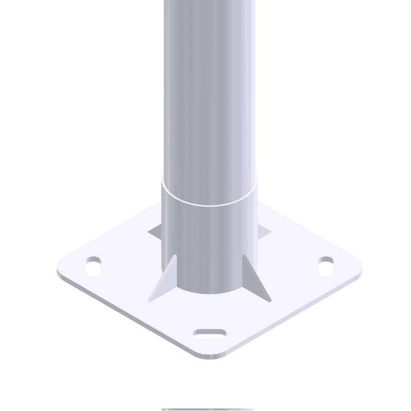Iluminación pública y alumbrado exterior con Columna Mixto CL