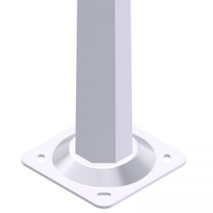 Iluminación exterior o público y alumbrado con Columna-Octogonal-MC-Rondo