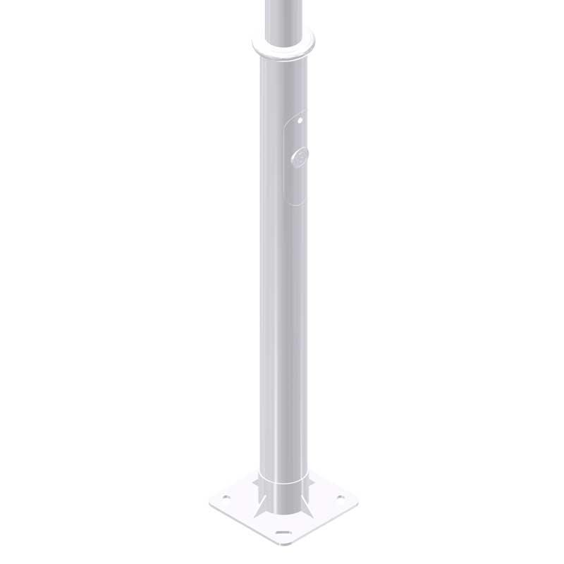 Iluminación pública y alumbrado exterior con Columna-Bicilíndrica-Nikolson-15