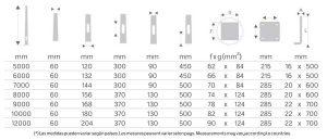 Soporte iluminación exterior Tabla-60-Columna-Troncocónica-APM