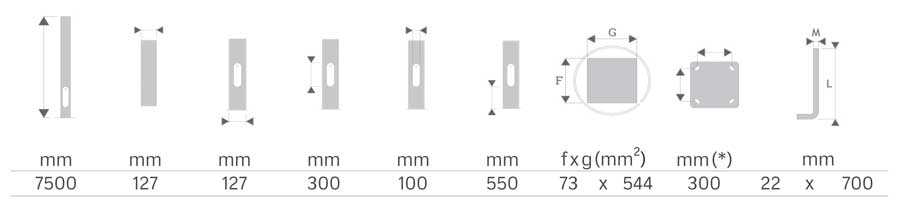 Alumbrado exterior e iluminación pública con columna cilíndrica MT-BCN