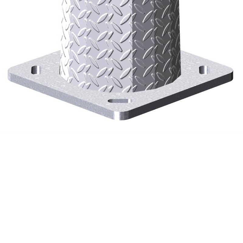 Columna de diseño-Monterrubio de ilumiación exterior y alumbrado público