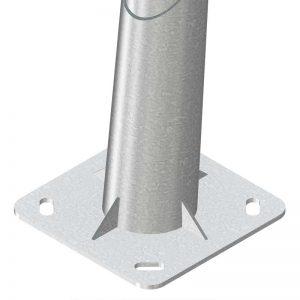 Columna-de diseño-APM-i-Lanza de ilumiación exterior y alumbrado público