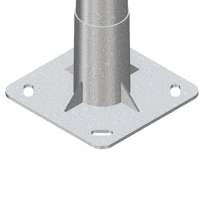 Columna de diseño APM-GR de iluminación pública y alumbrado exterior