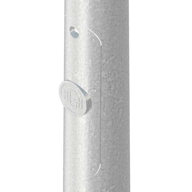 Columna-de diseño Teleno  de ilumiación exterior y alumbrado público