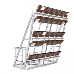 Plataforma para Columna de Gran Altura-de-alumbrado-público