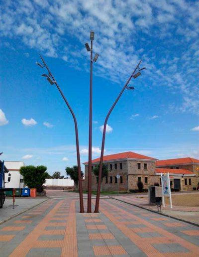 Book de Báculos y Columnas de Diseño de Alumbrado Público HGH