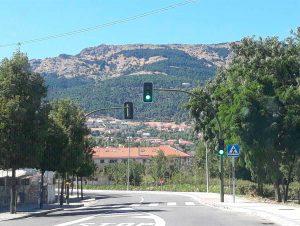 Banner semáforos y señalización de tráfico para móviles