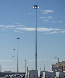 Banner columnas de gran altura para móvil