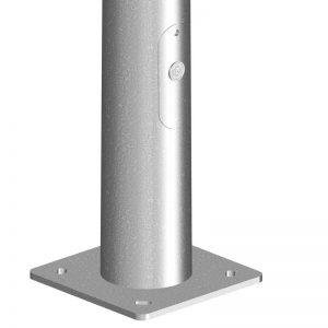 Columna G.A.-BELES-para-alumbrado exterior e iluminación pública