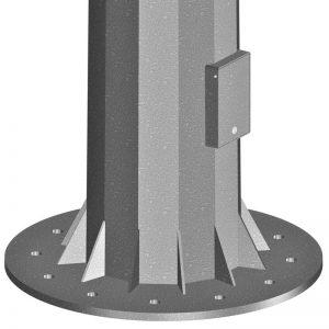 Columna de Gran Altura Compactpara-alumbrado-público-e-iluminación-exterior