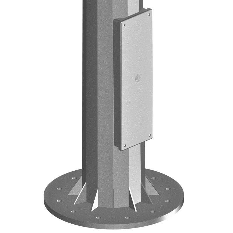 Puerta-y-placa--COLUMNA-GRAN-ALTURA-CON-COR-de-alumbrado-público